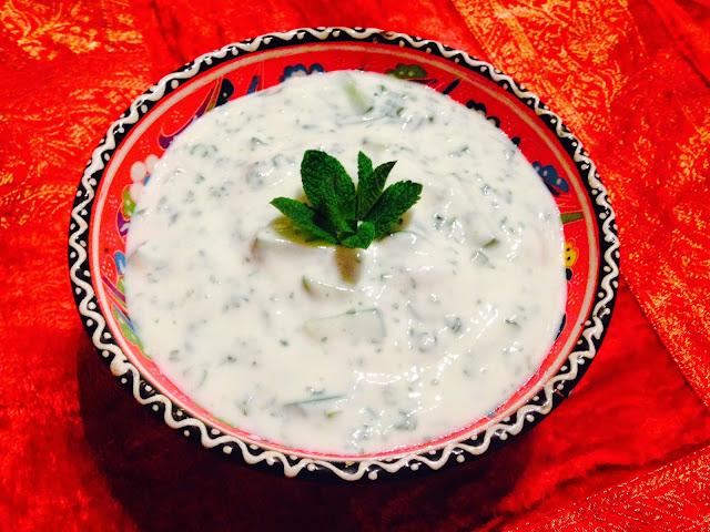 Mast-o-khiar - Yoghurt and cucumber dip