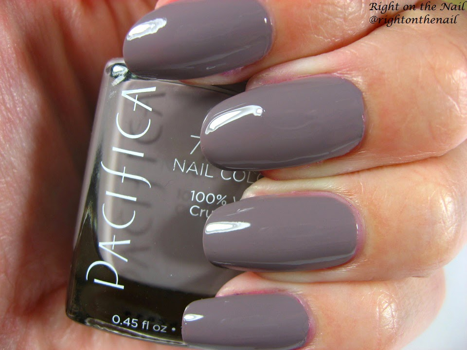 Right on the Nail: Pacifica 7-Free Nail Polish in Drift