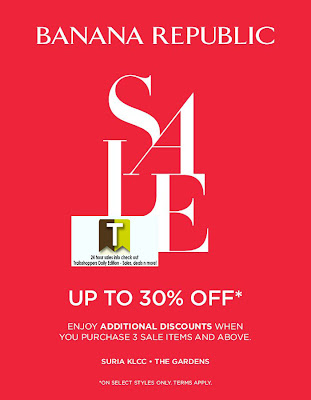 Banana Republic Mid-Year Sale 2012