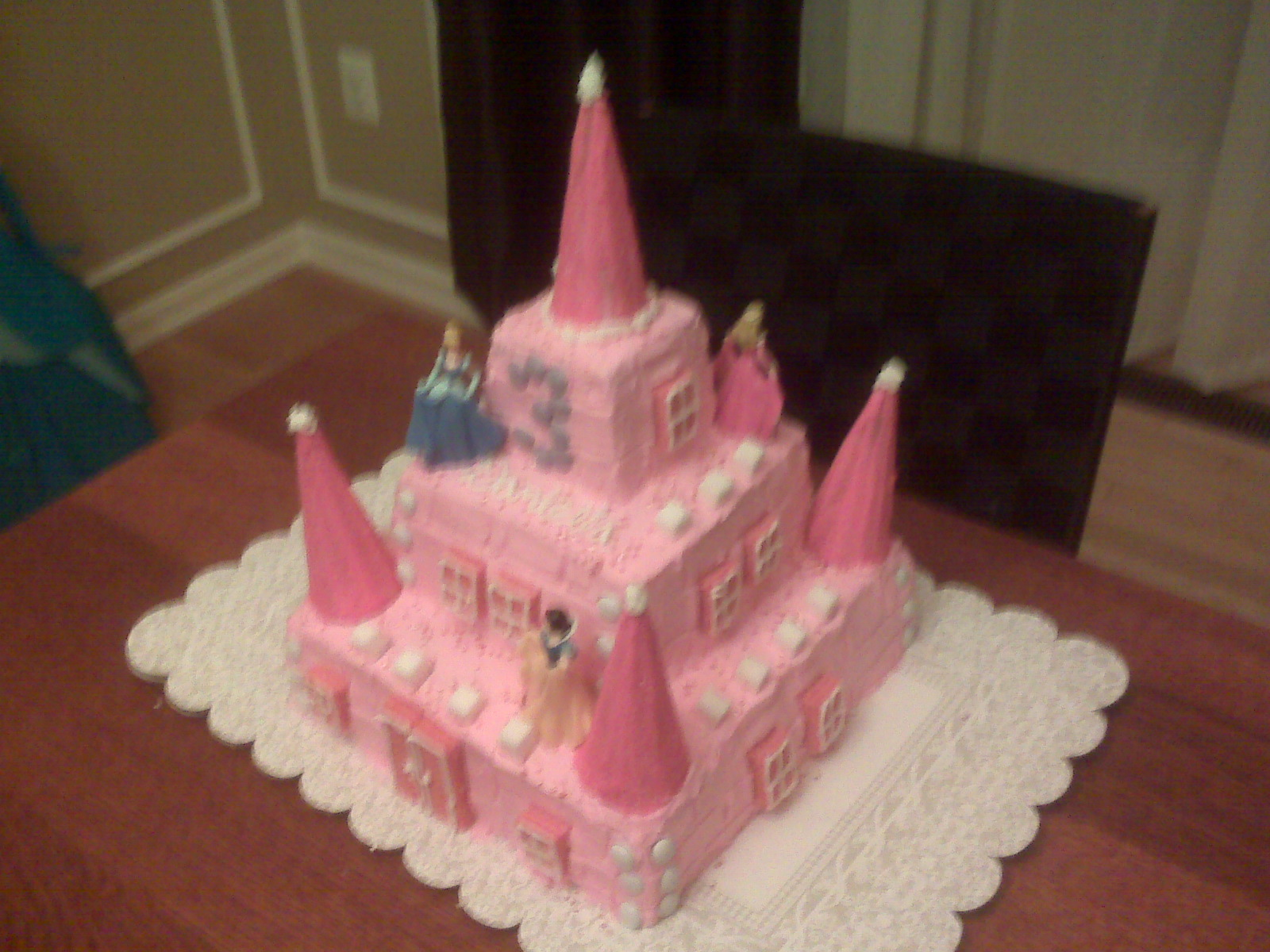 Cakes Of Mine Homemade And Desserts Princess Castle Cake
