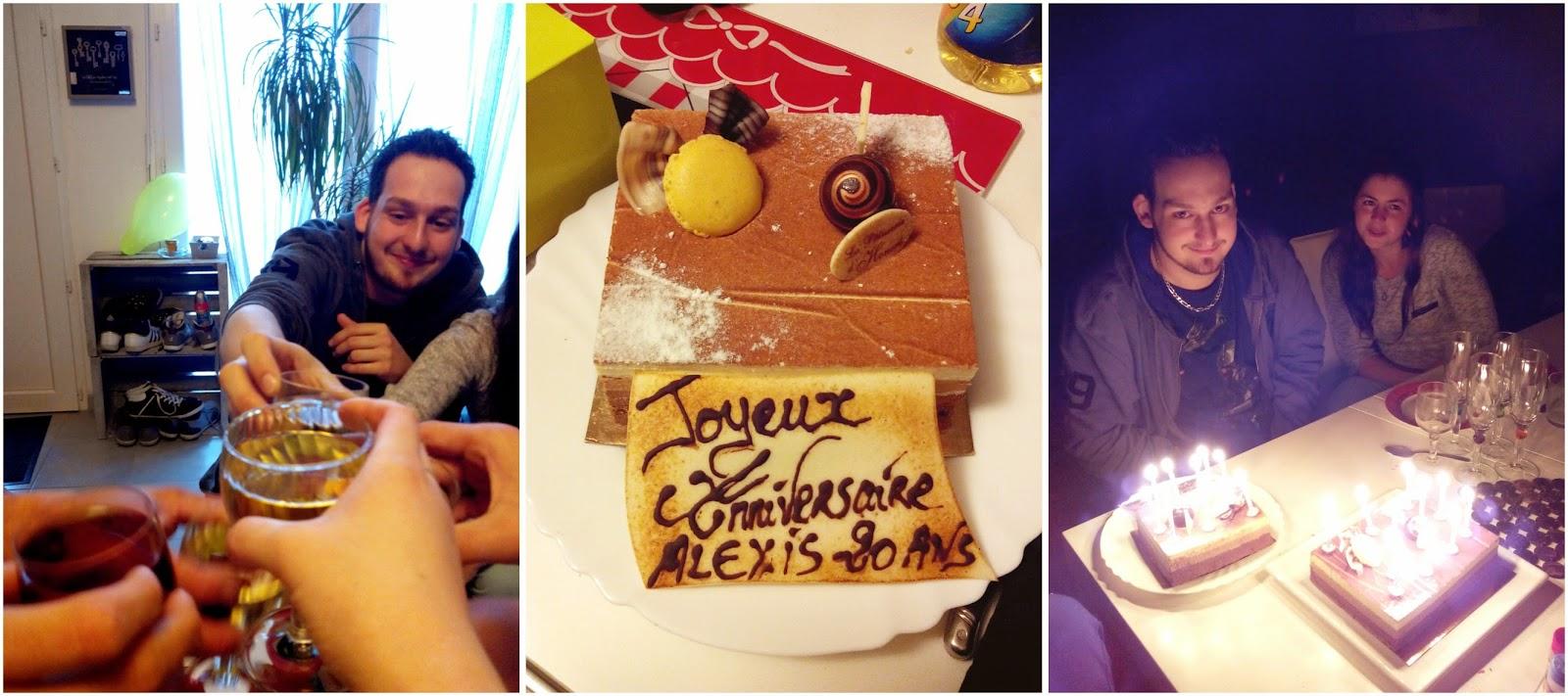 anniversaire, gâteau, bullelodie