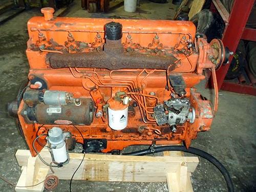 used Gleaner F2 engine