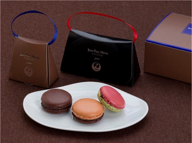 JAL to serve JEAN-PAUL HÉVIN macarons in First and Business Classes for a limited time