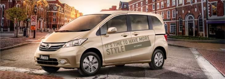Eksterior New Honda Freed
