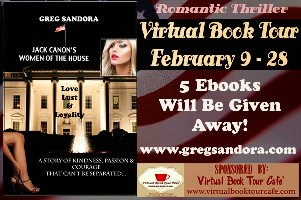 VBTC Blog Tour Spotlight:Women of the House by Greg Sandora