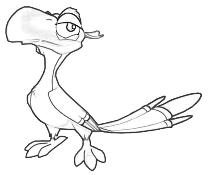 zazu-cute-coloring-pages