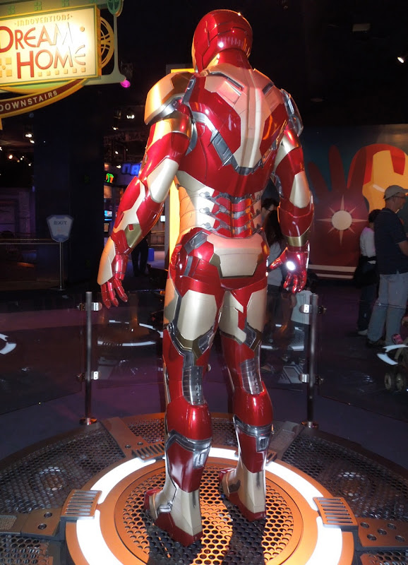 Iron Man 3 Mark 42 suit back