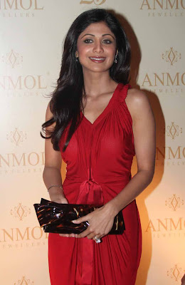 Bollywood Actress Shilpa Shetty Hot Photos at Anmol Jewellers 25th Anniversary Celebrations