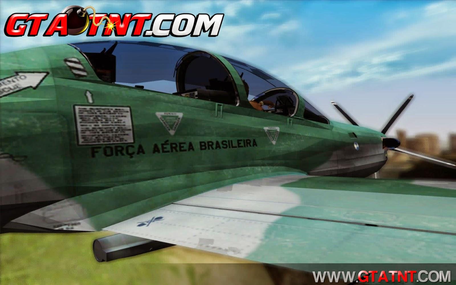 Embraer A-29B Super Tucano para GTA San Andreas