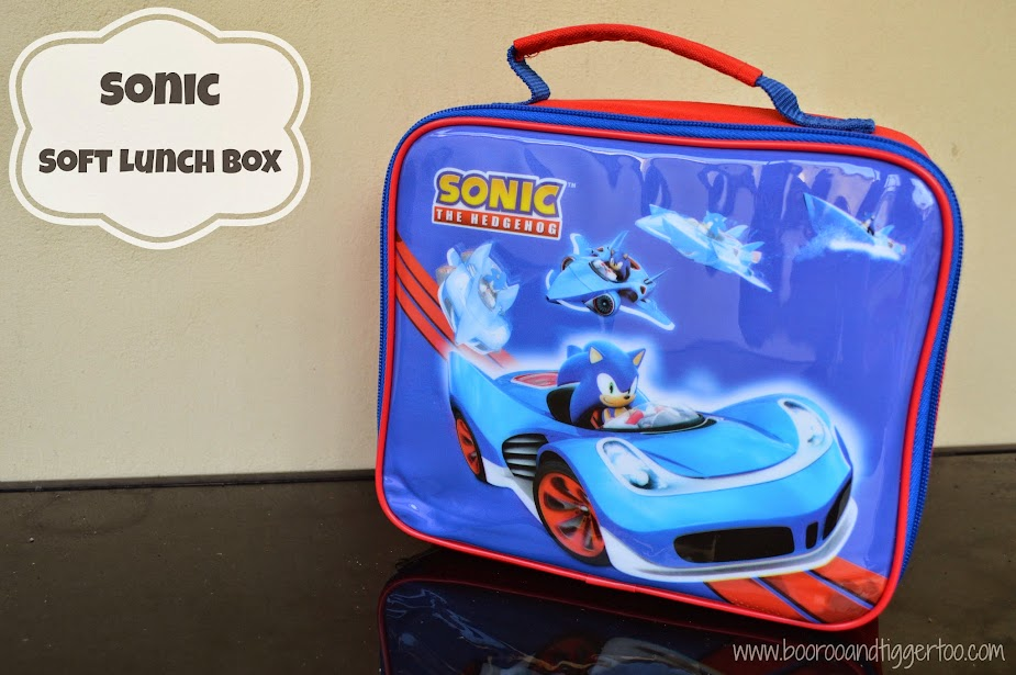 Back to School with Sonic the Hedgehog Soft Lunchbox