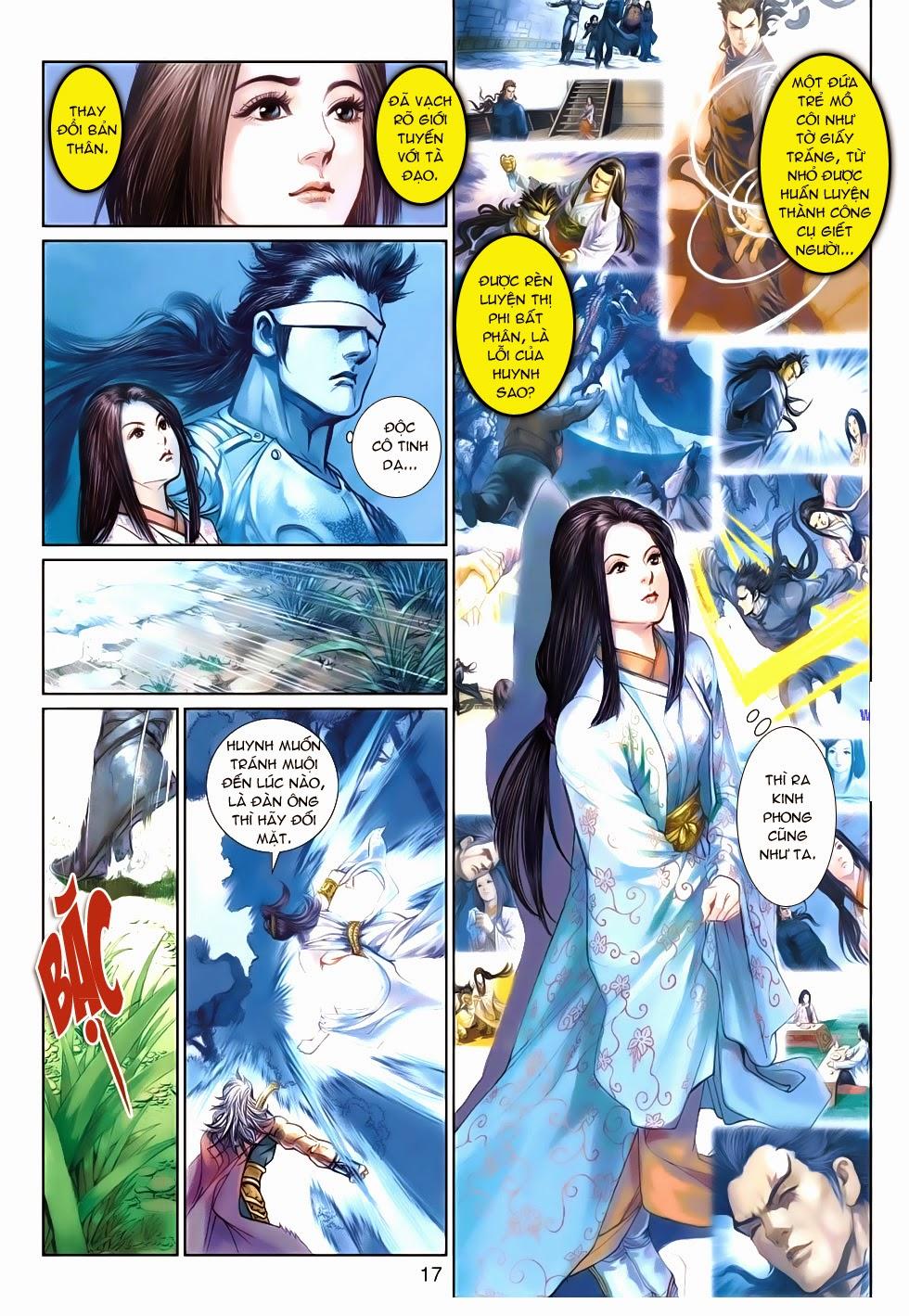 Thần Binh Tiền Truyện 4 - Huyền Thiên Tà Đế chap 9 - Trang 17
