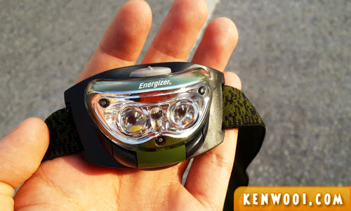 energizer race headlight