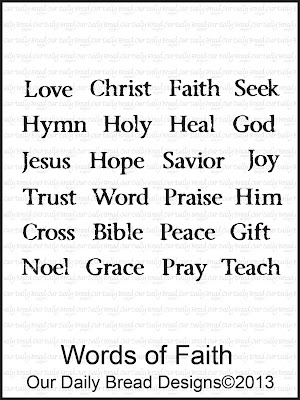 """ODBD """"Words of Faith"""""""