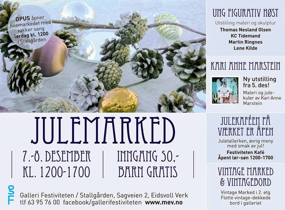 My next exhibition (Dec. 2013)