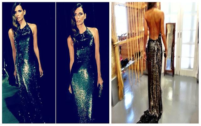 a filha do chefe baile da vogue 2013 fernanda motta diane von furstenberg vestido