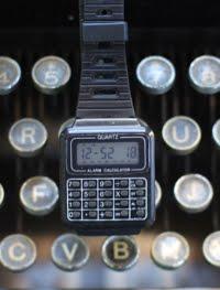 1980's Calculator watch!