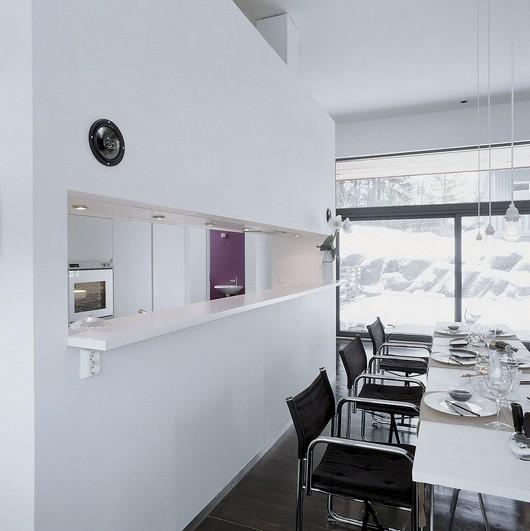 Mi rinc n de sue os pasaplatos en la cocina - Cocinas con estilo moderno ...