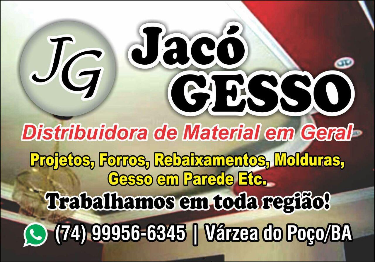 Várzea do Poço: Jacó Gesso, Distribuidora de Materiais de Gesso em Geral