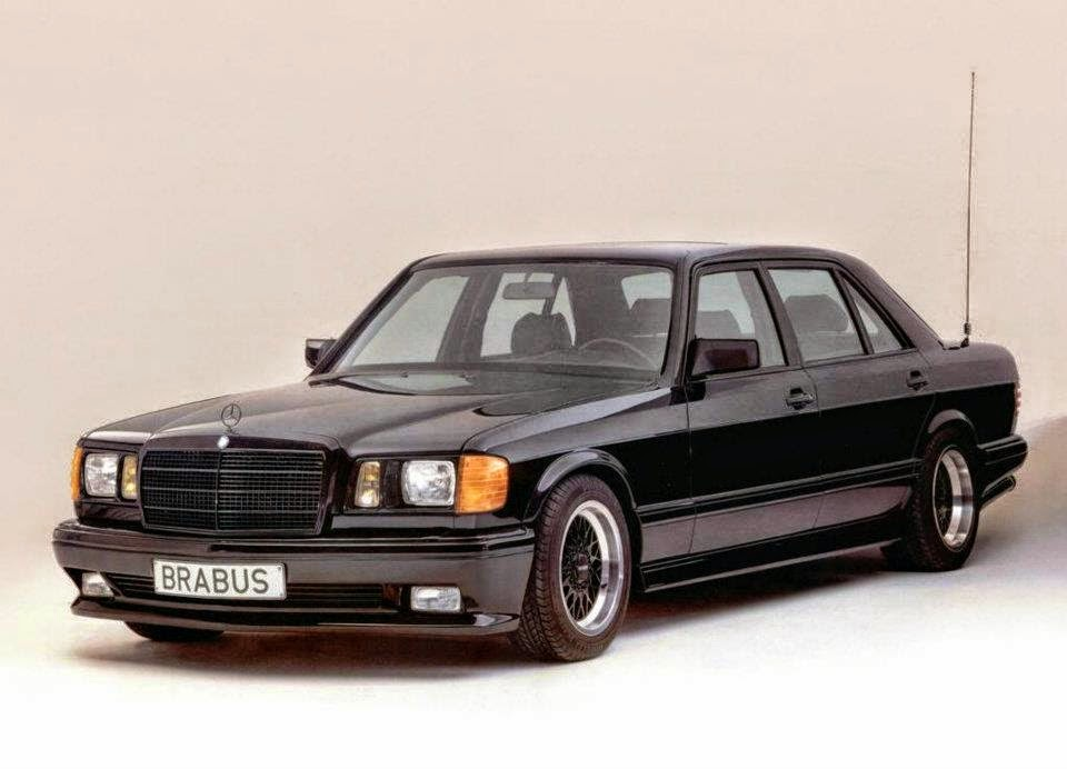 Mercedes benz 560sel w126 brabus benztuning for Mercedes benz w126