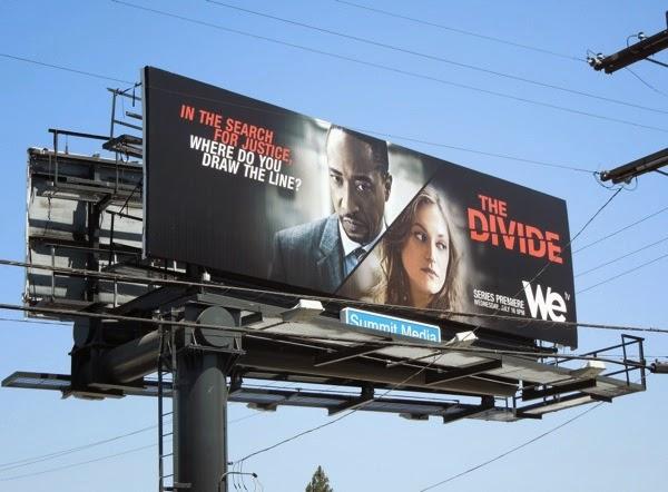 The Divide series premiere billboard