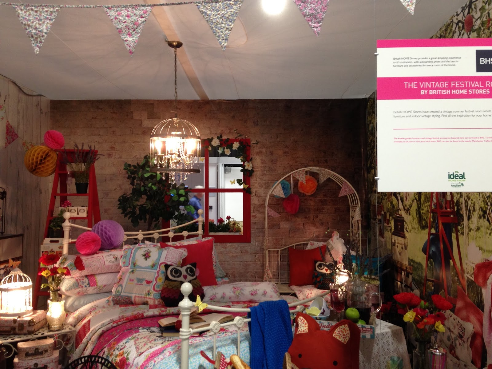 BHS Homes and Interiors Display