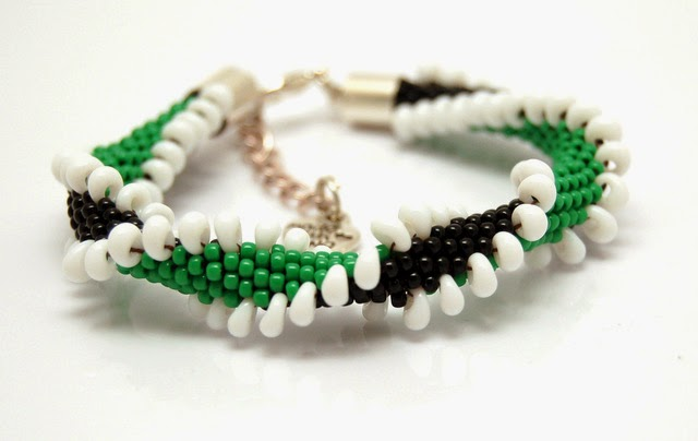 bransoletka koralikowa bead crochet bracelet inati zare 15