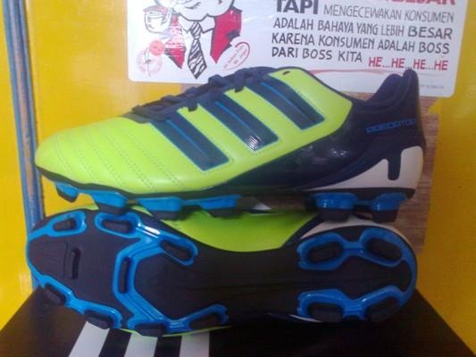 Sepatu Adidas Predator Predito - FG - Slime-Dark Indigo
