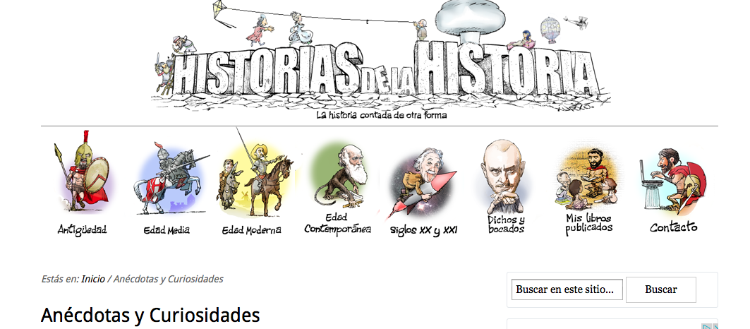 http://historiasdelahistoria.com/tag/enigmas-y-anecdotas