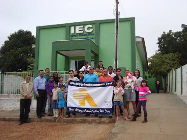 Templo da IEC em Arenápolis/MT