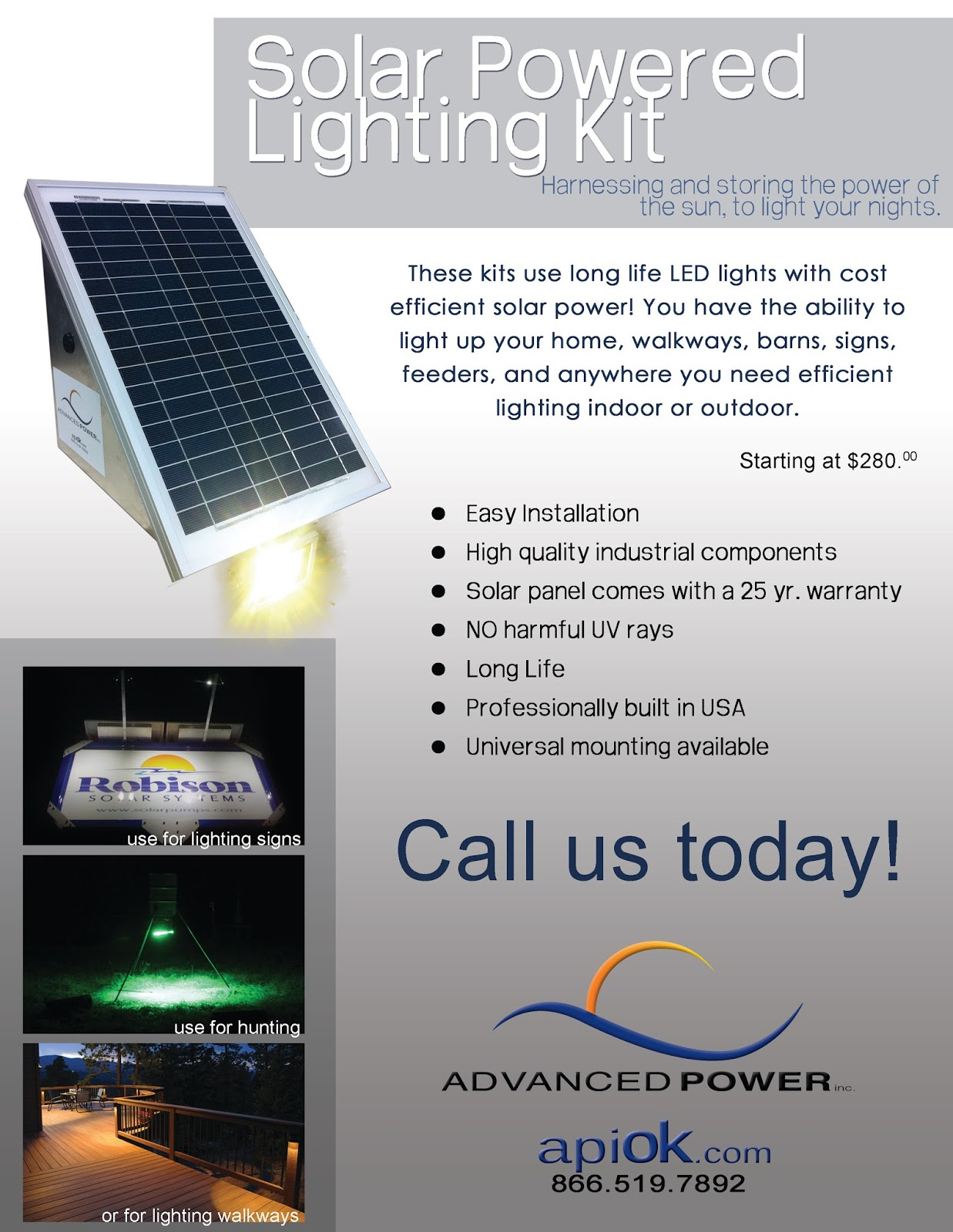 Solar Water Pumps: Solar Powered Led Lighting Systems for Portable ...