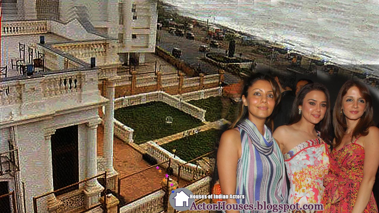 Bollywood Actor Sharukh Khan House Which Is Having Sea View