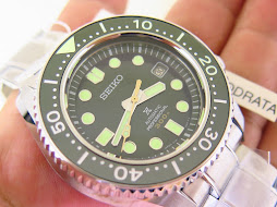 SEIKO PROSPEX SEA BASELWORLD 2018 - SEIKO SLA019 LIMITED EDITION GREEN DIAL - BNIB