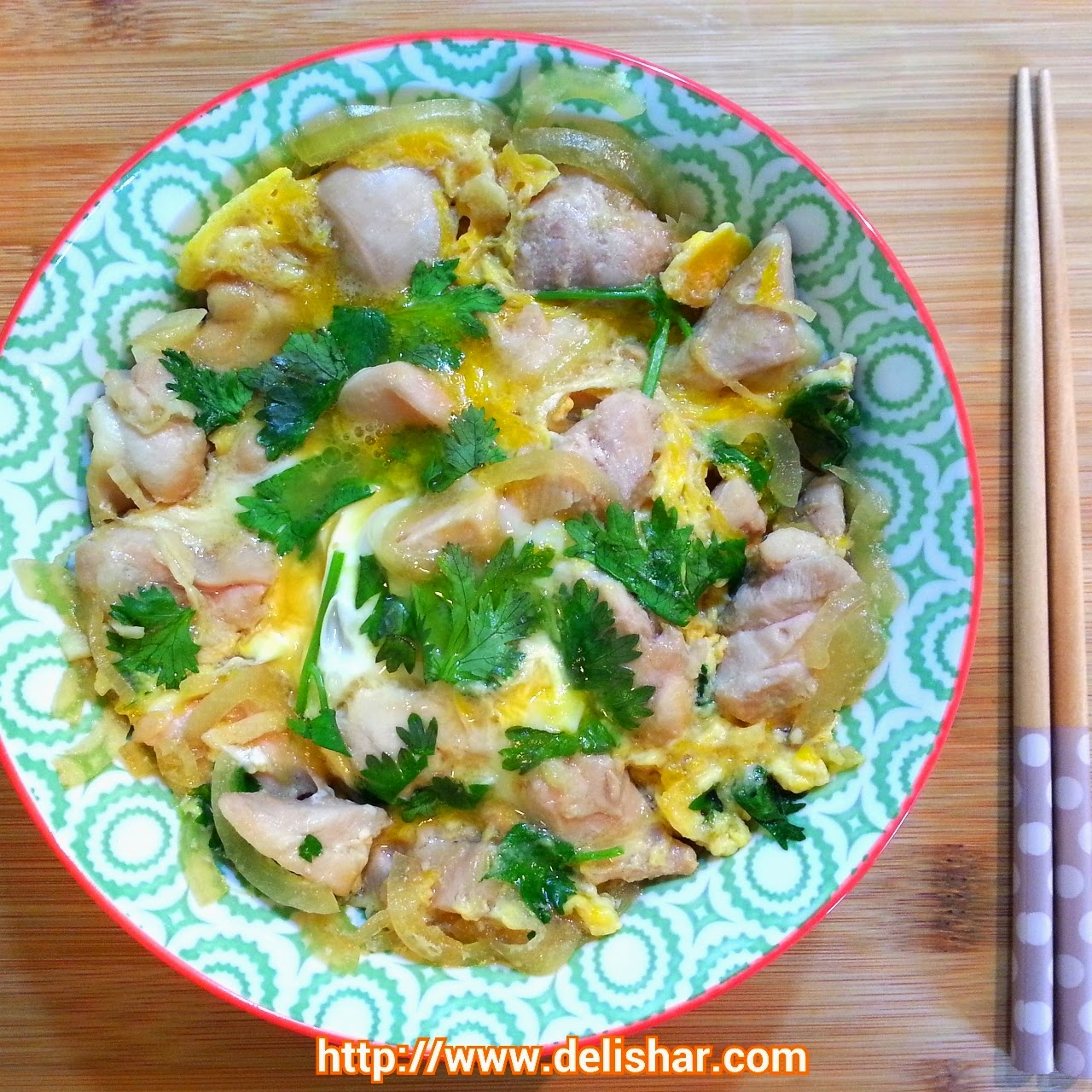 ... : Singapore Cooking & Food Blog: Oyakodon (Chicken and Egg Rice Bowl