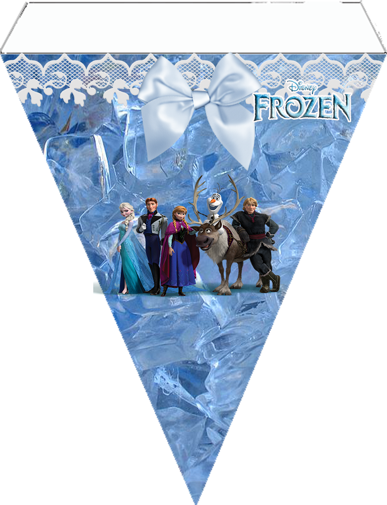 photograph regarding Frozen Banner Printable known as Frozen Bash: Cost-free Printables. - Oh My Fiesta! within english