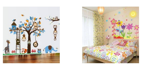 Wallpaper gambar comel sesuai untuk dekorasi untuk anak2