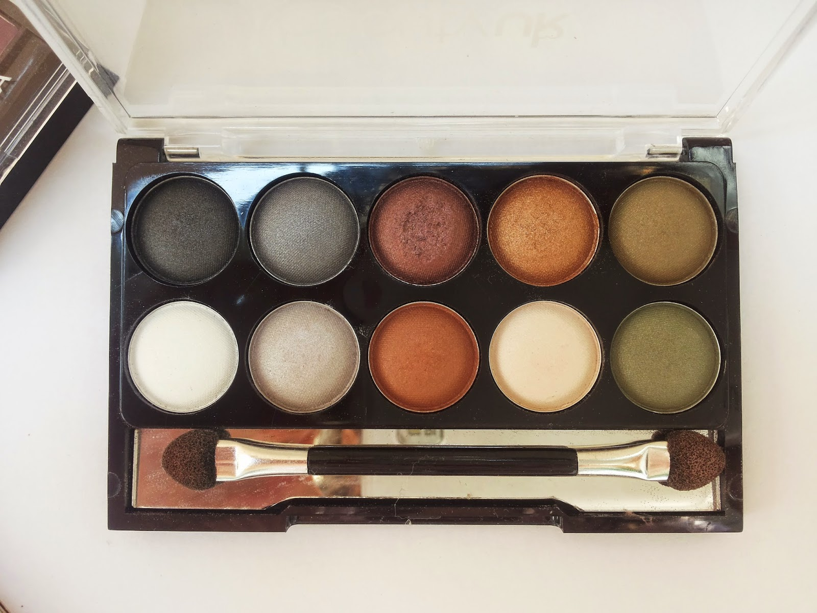 beauty uk eyeshadow palette earth child