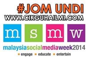 Lagi Seminggu Untuk Vote Blog Pilihan Anda #MSMW2014