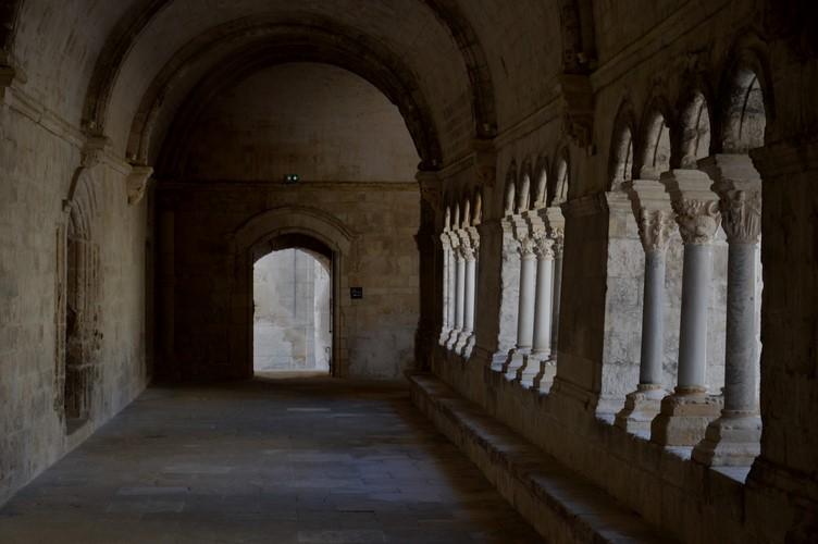 3 Le Cloître Abbaye de Montmajour