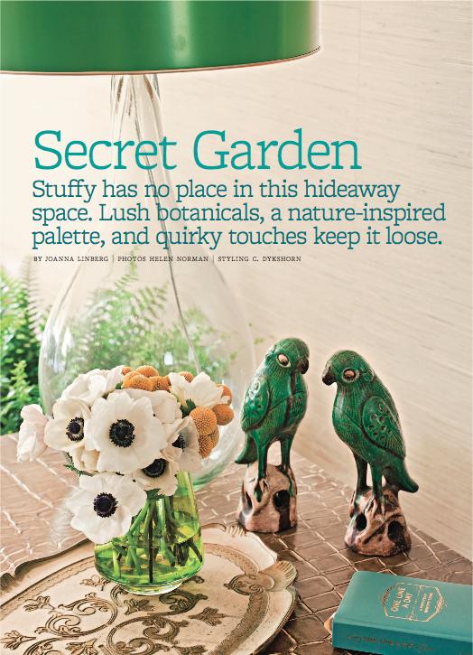 My Room in Better Homes & Gardens Magazine