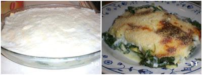 lasagne spinaciose