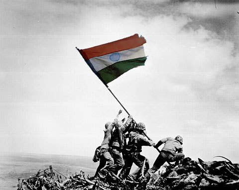 Indian Flag Tricoloured India The Land Of Hearts