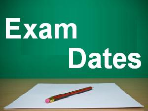 GTU Exam Time Table