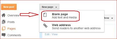 cara membuat daftar isi blog - exnim.com