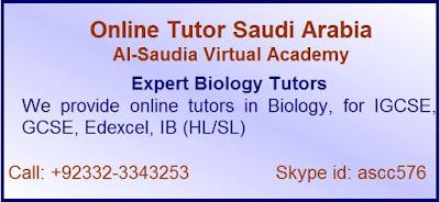 Online Biology Tutor Saudi Arabia