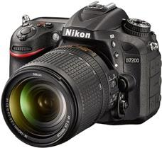 Nya kameran Nikon D7200