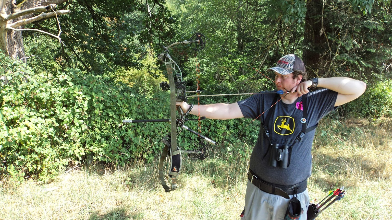 Cecilia flaming archery blog hunter scoring 3d shoot for Bow fishing games
