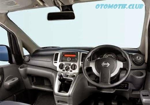 Gambar Dashboard Nissan Evalia