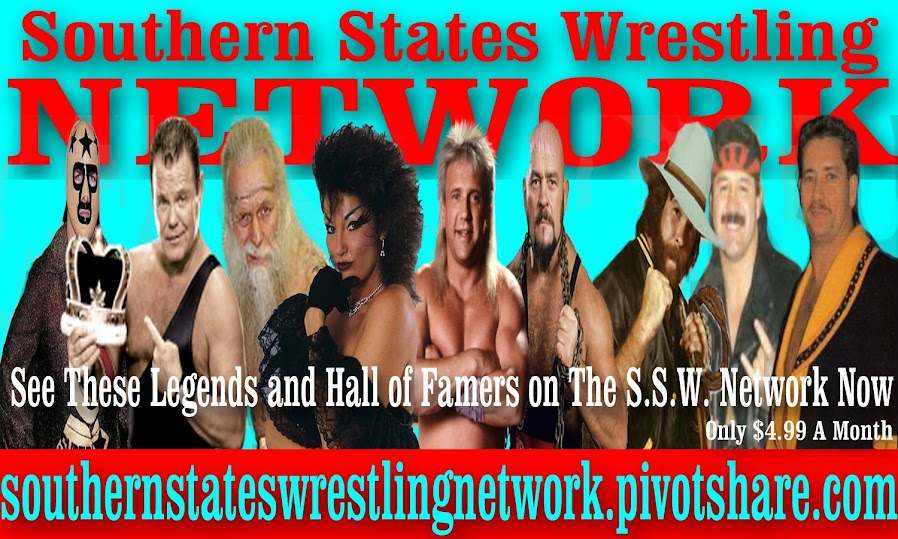Southern States Wrestling Network is here