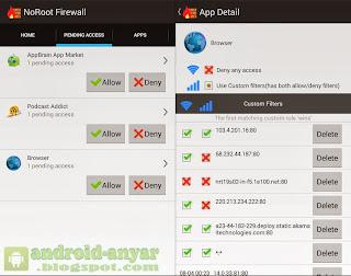 Cara menghindari aplikasi atau game mencuri kuota data internet di Android tidak root