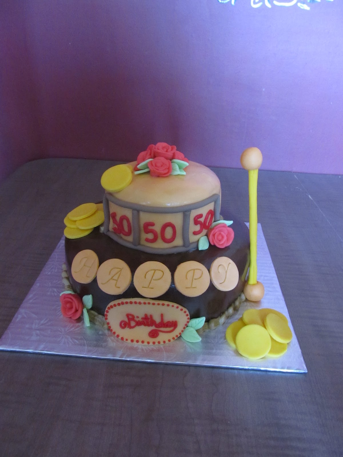 Cake Designs By Steph Slot Machine Birthday Cake